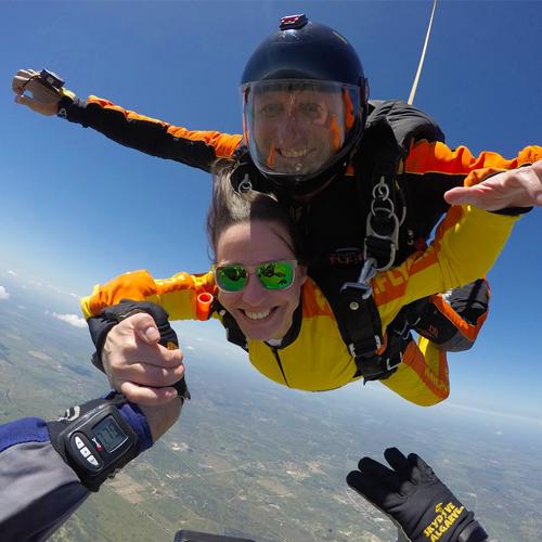 Salto Paraquedas - Fly4Fun